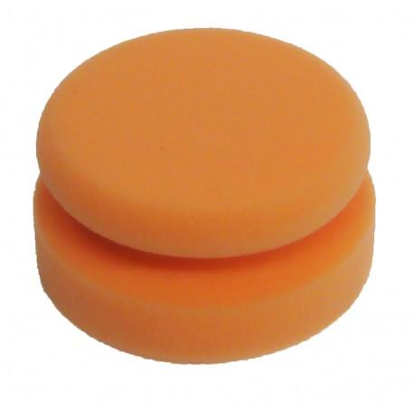 Auftrag Polierpuks orange mittel