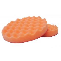Polierschwamm orange gewaffelt