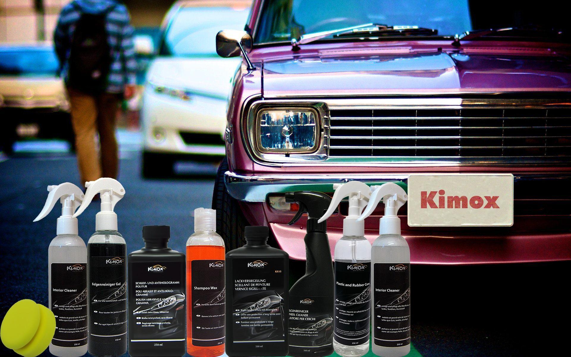 Autopflege für glanz Auto